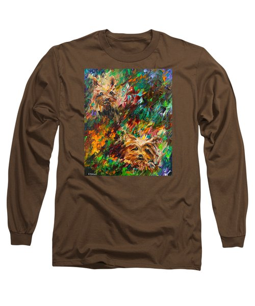 Yorkies Long Sleeve T-Shirt