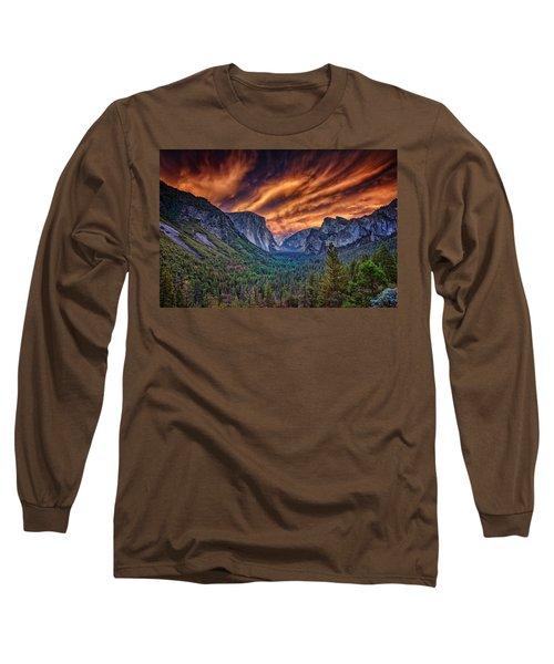 Yosemite Fire Long Sleeve T-Shirt