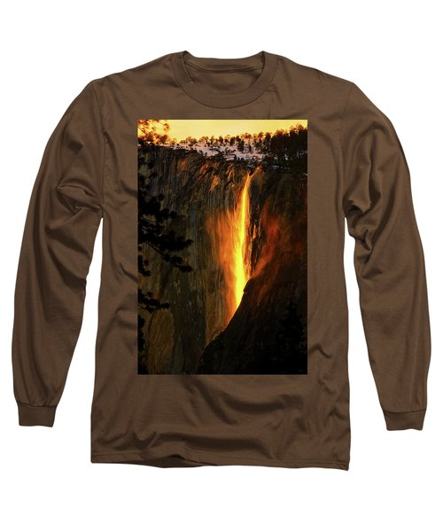 Yosemite Firefall Long Sleeve T-Shirt