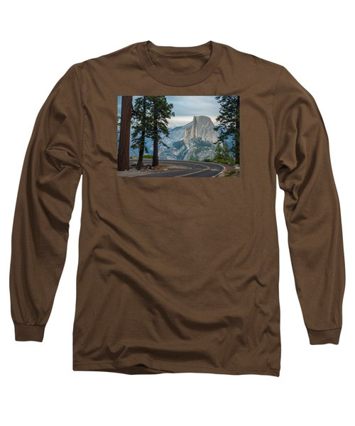 Yosemite Glacier Point Long Sleeve T-Shirt by Jonas Wehbrink