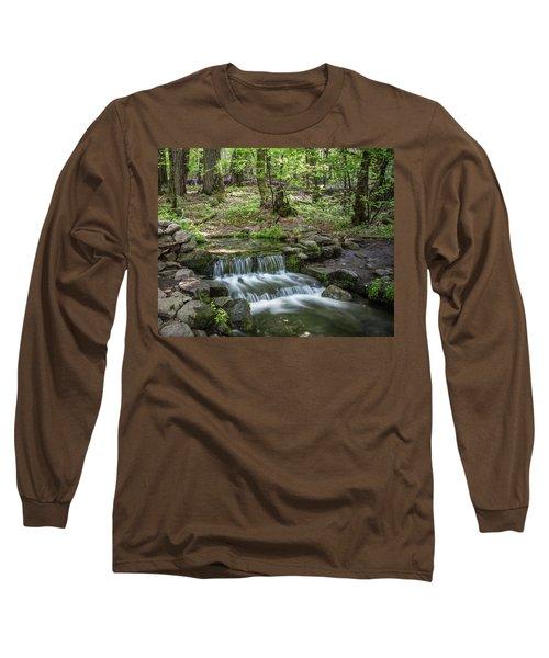 Yosemite View 23 Long Sleeve T-Shirt by Ryan Weddle
