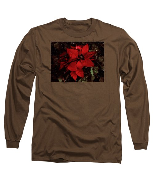 You Know It's Christmas Time When... Long Sleeve T-Shirt by Elaine Malott