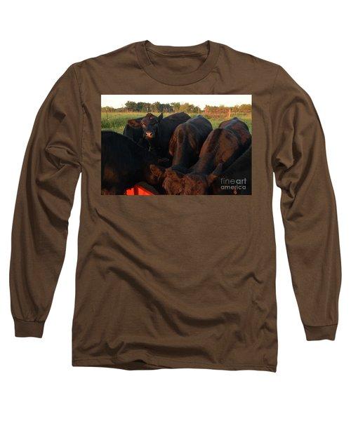 You Lookin At Me? Long Sleeve T-Shirt