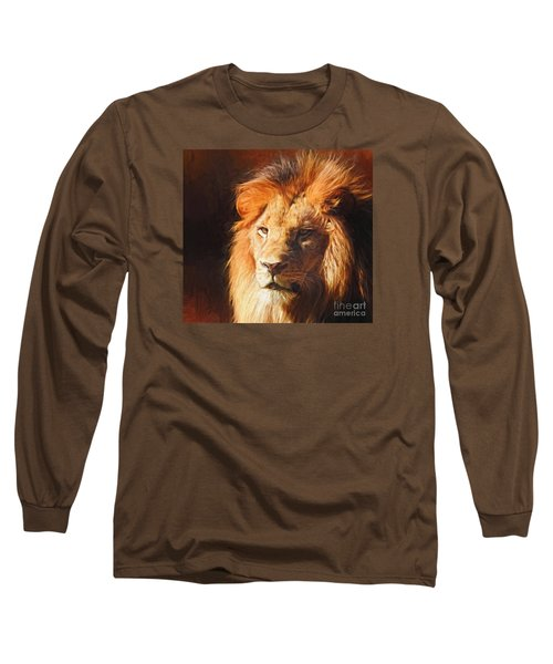 Young King Long Sleeve T-Shirt by Suzanne Handel