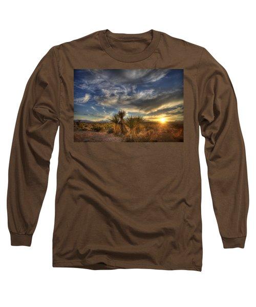 Yucca Sunset Long Sleeve T-Shirt