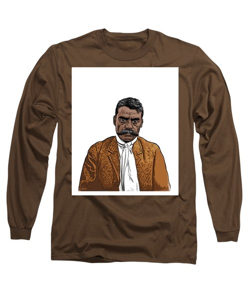 Zapata Long Sleeve T-Shirt by Antonio Romero