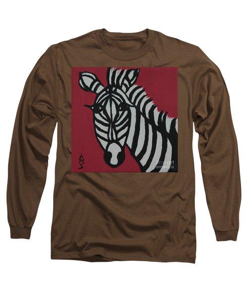 Zena Zebra Long Sleeve T-Shirt