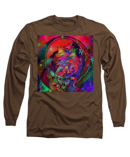 Long Sleeve T-Shirt featuring the painting Ziggy  by Kevin Caudill