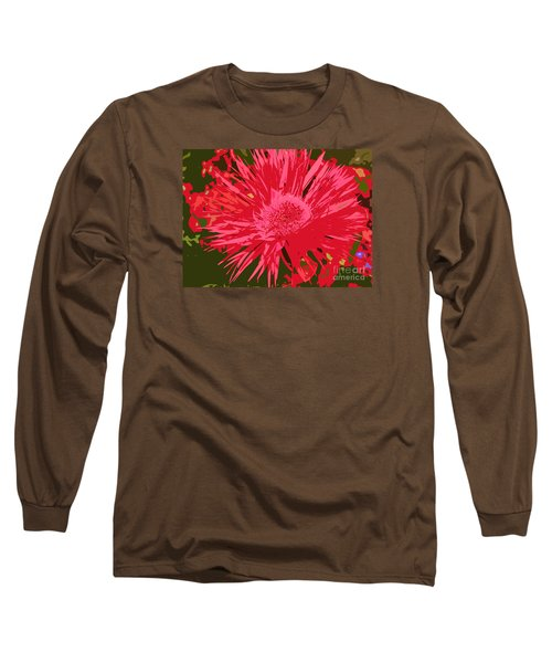 Long Sleeve T-Shirt featuring the photograph Zinnia Party by Jeanette French