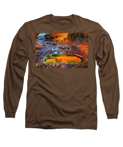 Zion Subway Falls Long Sleeve T-Shirt