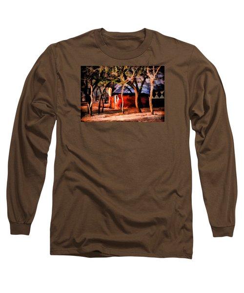Zulu Sunset Long Sleeve T-Shirt by Rick Bragan