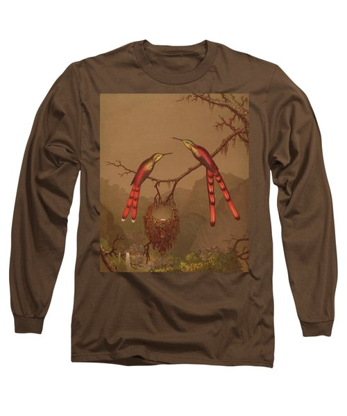 Brazilian Hummingbirds Long Sleeve T-Shirt
