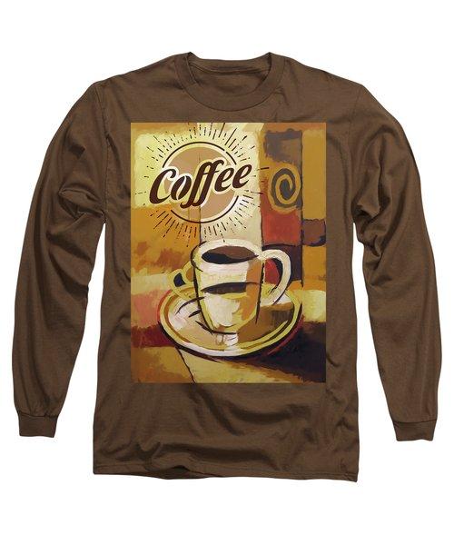 Coffee Poster Long Sleeve T-Shirt