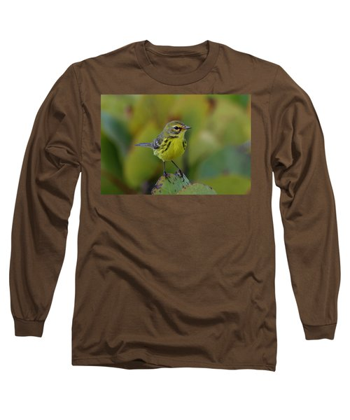 Prairie Warbler Long Sleeve T-Shirt