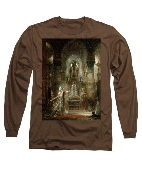 Salome Dancing Before Herod Long Sleeve T-Shirt