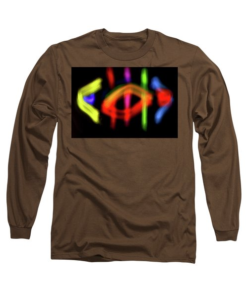 Abstract 48 Long Sleeve T-Shirt