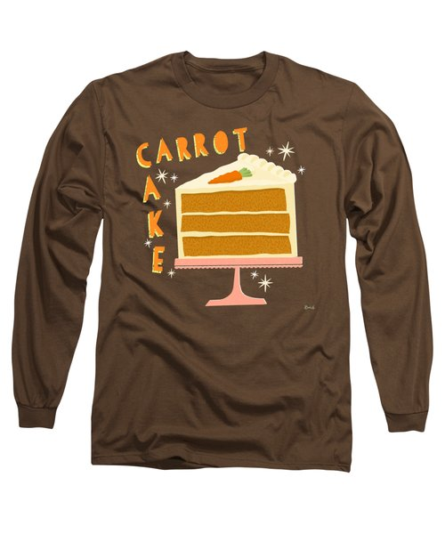 All American Classic Carrot Cake Long Sleeve T-Shirt
