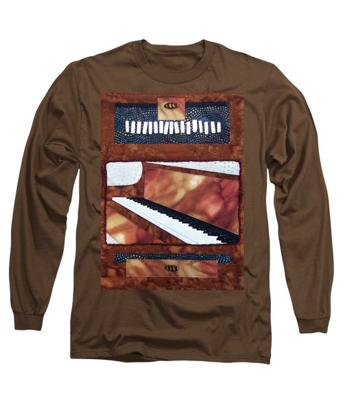 All That Jazz Piano Long Sleeve T-Shirt