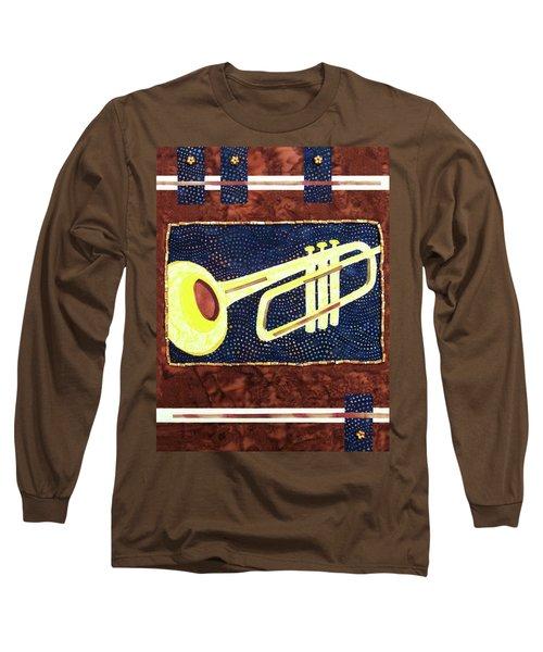 All That Jazz Trumpet Long Sleeve T-Shirt