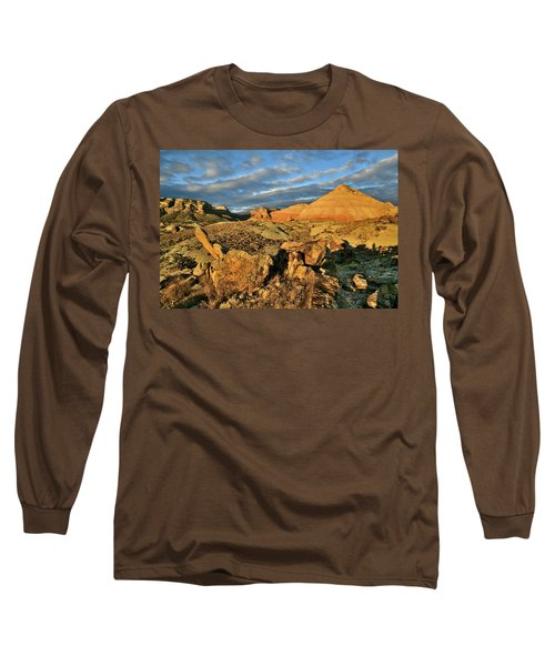 Amazing Clouds Over Ruby Mountain And Colorado National Monument Long Sleeve T-Shirt