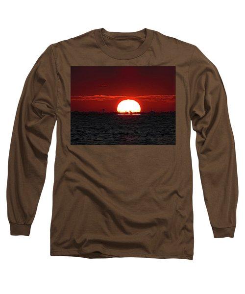 Amber Sky Long Sleeve T-Shirt