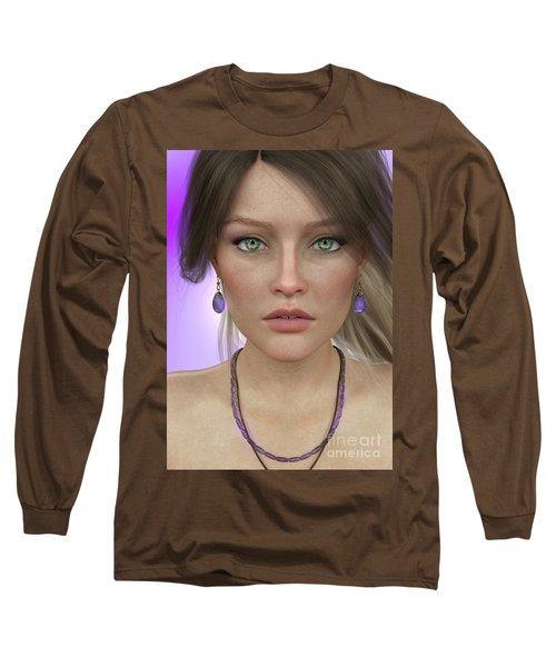 Amethyst Long Sleeve T-Shirt