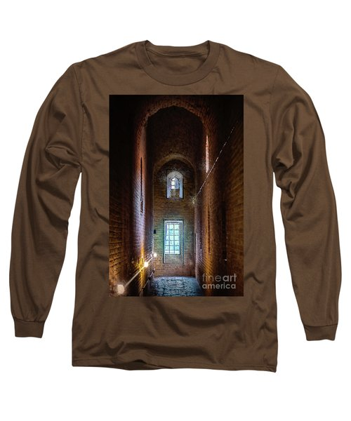 An Entrance To The Casemates Of The Medieval Castle Long Sleeve T-Shirt