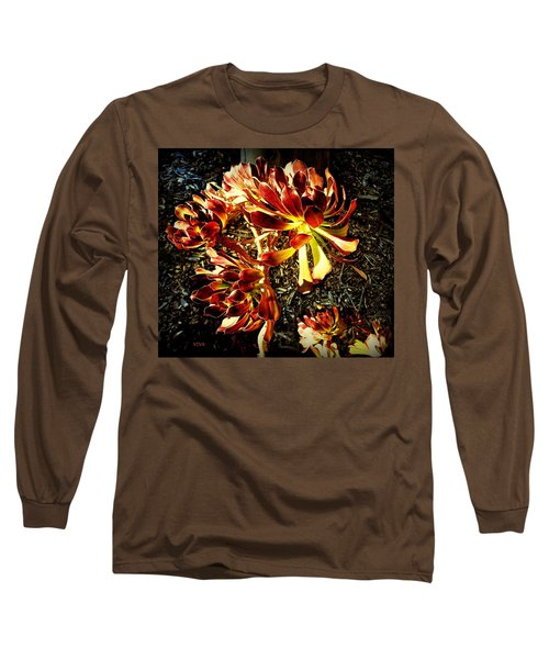 An Old - Fashioned Girl Floral Long Sleeve T-Shirt