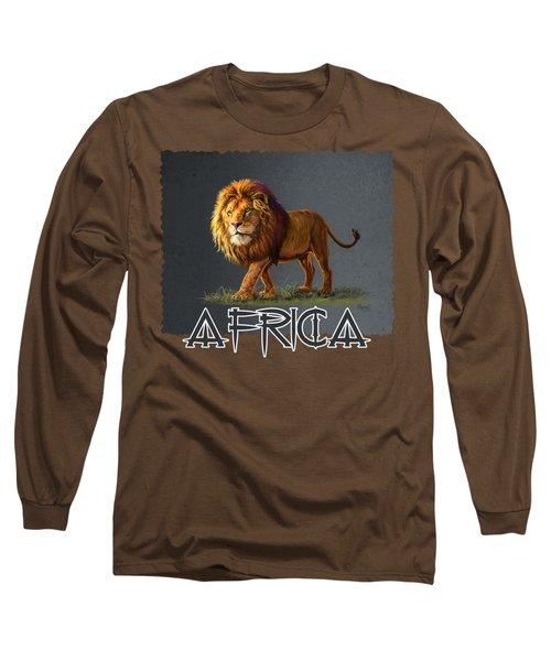 Panthera Leo Long Sleeve T-Shirt
