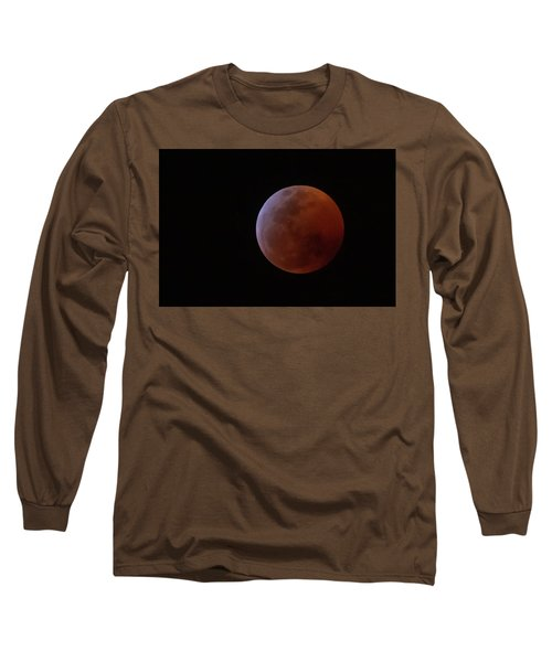 Bahamian Super Blood Wolf Moon Long Sleeve T-Shirt