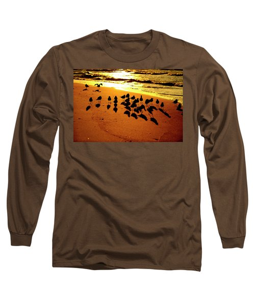 Bird Shadows Long Sleeve T-Shirt