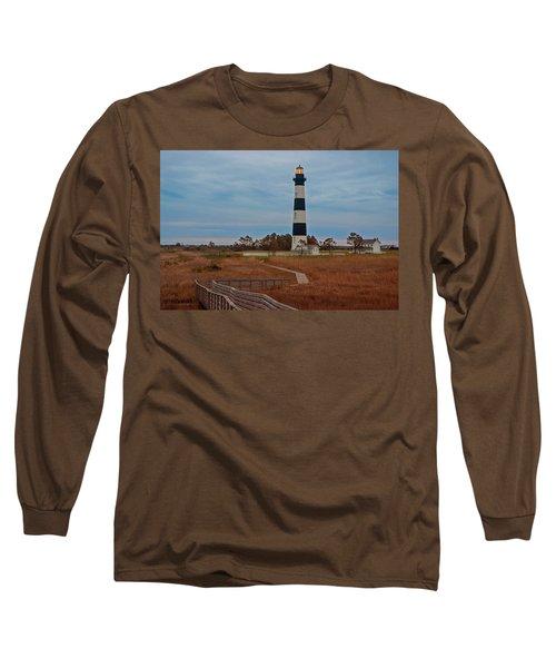 Bodie Island Lighthouse No. 4 Long Sleeve T-Shirt