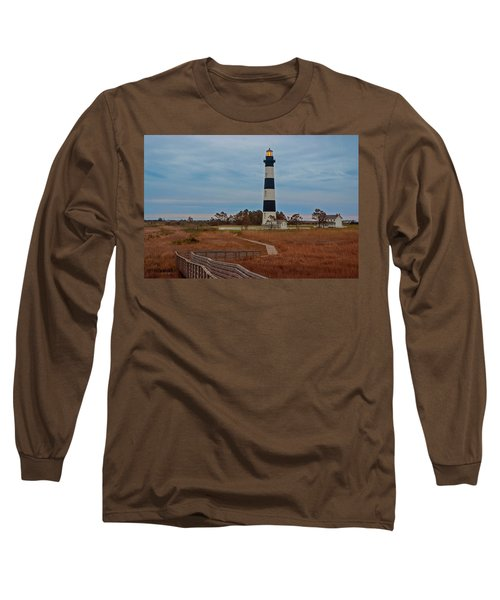 Bodie Island Lighthouse No. 4 Long Sleeve T-Shirt