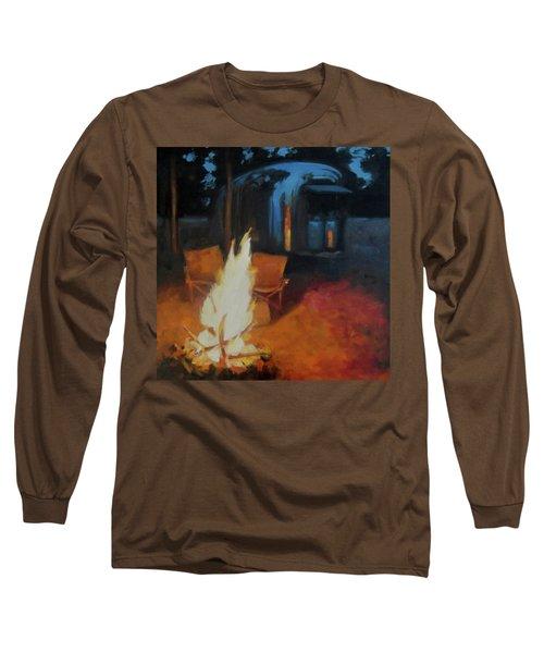 Boondocking At The Grand Canyon Long Sleeve T-Shirt