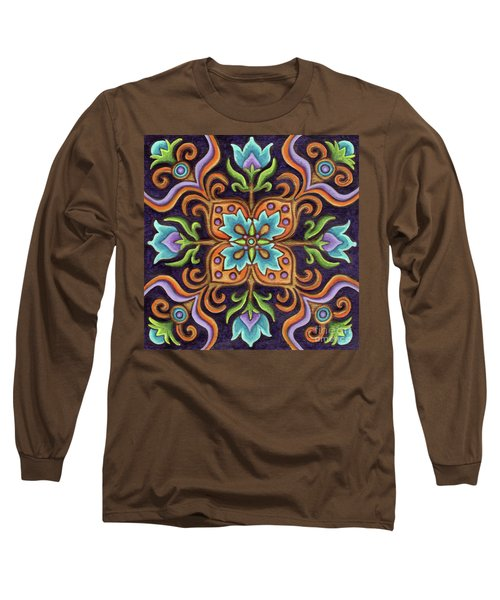 Botanical Mandala 12 Long Sleeve T-Shirt