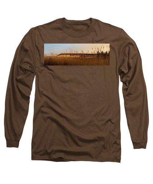 Bridge To Assateague Island National Seashore Long Sleeve T-Shirt
