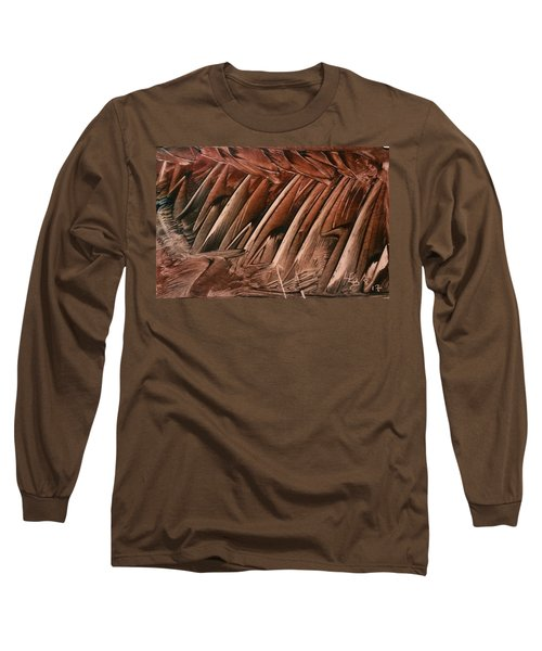 Brown Ladders/steps Long Sleeve T-Shirt
