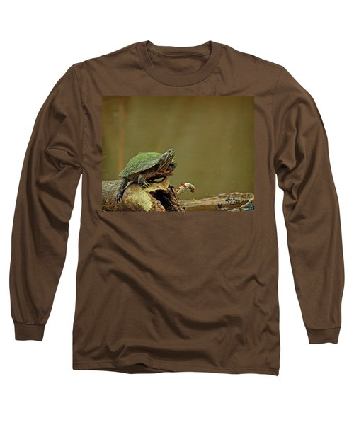 Bump On A Log Long Sleeve T-Shirt