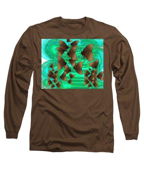 Butterfly Patterns 3 Long Sleeve T-Shirt