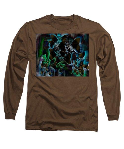 Butterfly Patterns 5 Long Sleeve T-Shirt