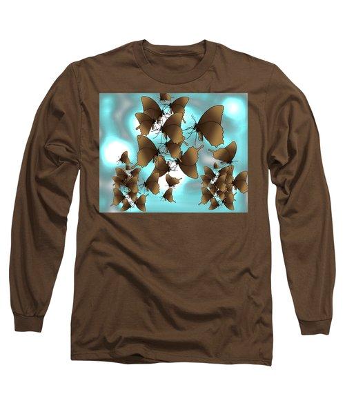 Butterfly Patterns 7 Long Sleeve T-Shirt
