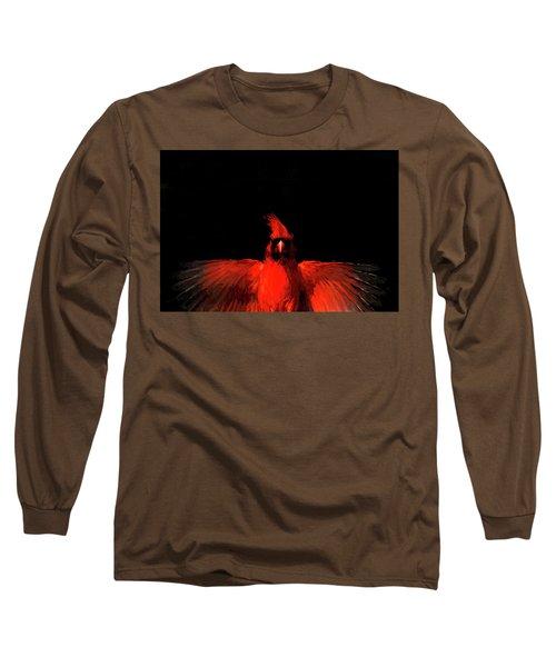 Cardinal Drama Long Sleeve T-Shirt