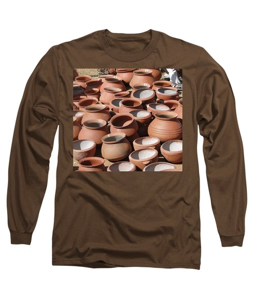 Clay Pots  For Sale In Chatikona  Long Sleeve T-Shirt