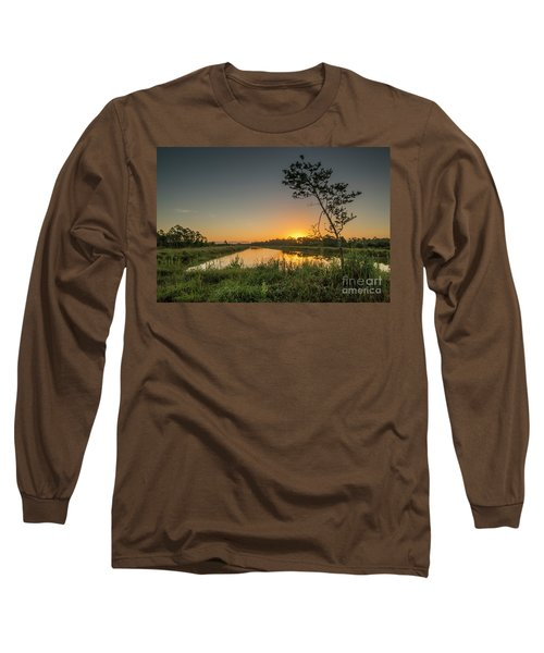 Cloudless Hungryland Sunrise Long Sleeve T-Shirt