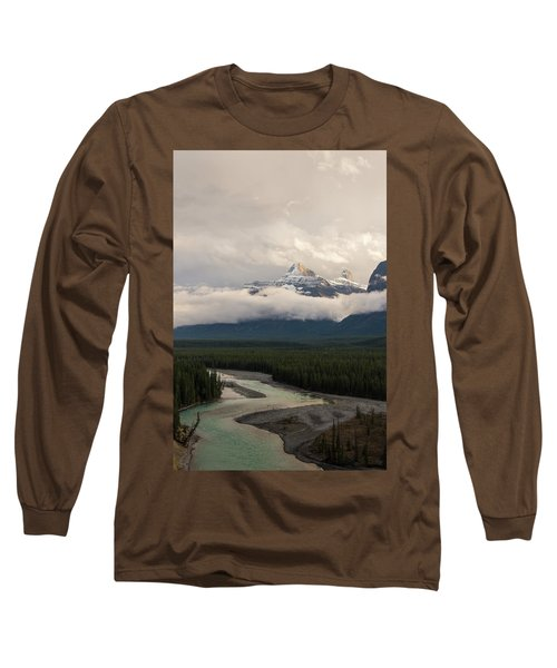 Long Sleeve T-Shirt featuring the photograph Clouds In The Valley by Alex Lapidus