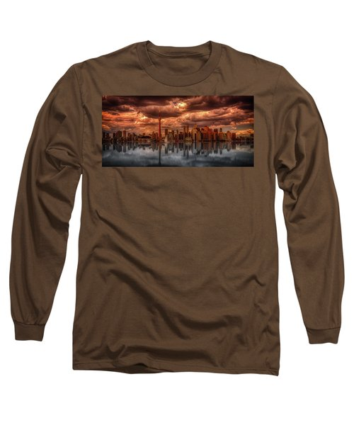 Clouds Over Toronto Long Sleeve T-Shirt
