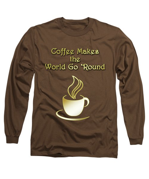 Coffee Aroma Long Sleeve T-Shirt