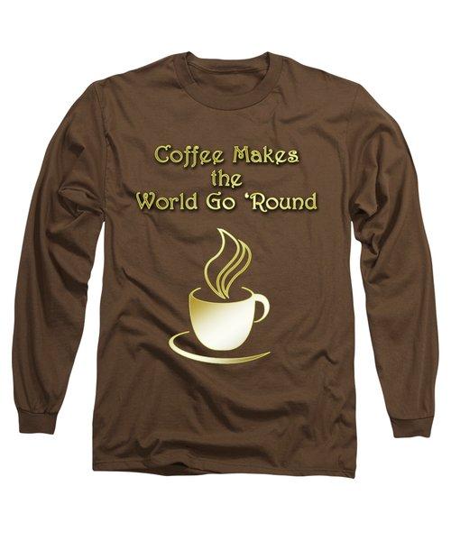 Coffee Aroma Long Sleeve T-Shirt