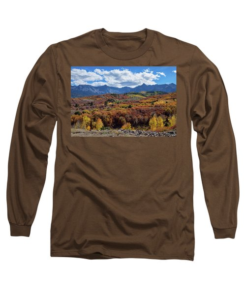 Long Sleeve T-Shirt featuring the photograph Colorado Color Lalapalooza by James BO Insogna
