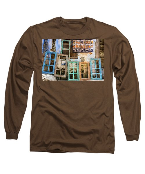 Colorful Window Frames Long Sleeve T-Shirt
